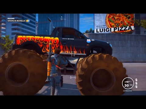 Just Cause 3 - How to Get The Monster Truck! [Jump Locations]