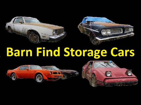 Buy Classic Barn Find Cars Project Car For Sale Video