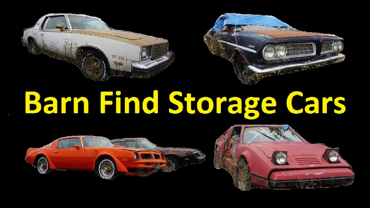 Buy Classic Barn Find Cars Project Car For Sale Video - YouTube