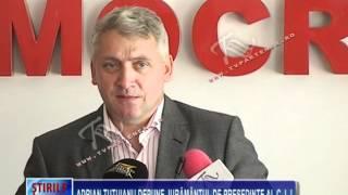 Adrian Ţuţuianu depune jurământul de preşedinte al C.J.