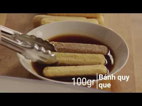 Công thức bánh Tiramisu cực đơn giản