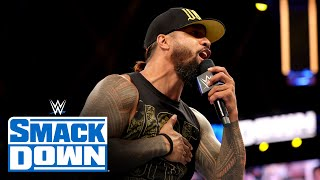 Jimmy Uso fires back at Roman Reigns: SmackDown, June 11, 2021