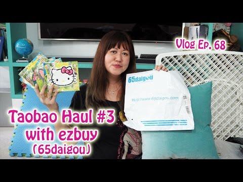 Taobao Haul #3 with ezbuy (65daigou) | Singapore | Vlog Ep 68
