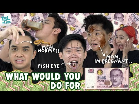 TSL Plays: What Would You Do For $1000?