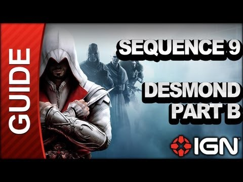 Assassin's Creed: Brotherhood Walkthrough - Sequence 9: Desmond Part B