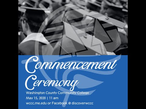Washington County Community College 2020 Commencement