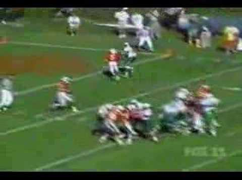 Marshall Thundering Herd - Randy Moss 5 TDs vs Ball St 1997