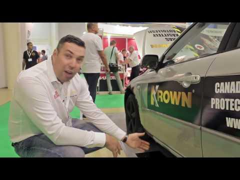 """Тест антикоррозийного состава KROWN на Mazda 6 I Выставка """"Автокомпонеты и автосервис"""""""