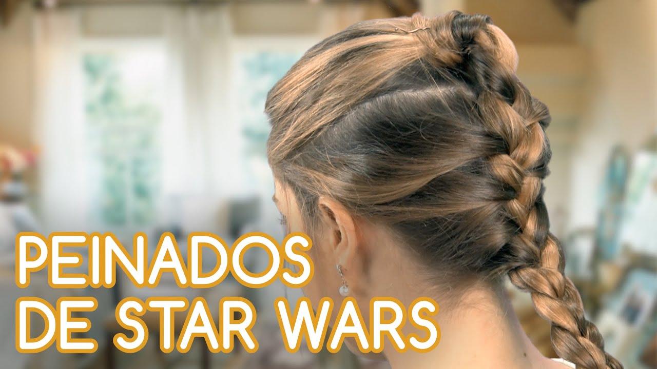 Como Hacer 3 Peinados De Star Wars En 5 Minutos Youtube