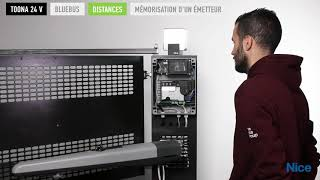 Programmation moteur NICE TOONA 24 V pour portail battant
