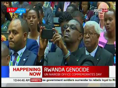 UN commemorates Rwanda's genocide at their headquarters in Gigiri,Nairobi-News Centre