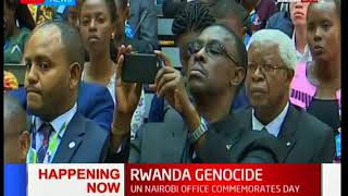 Video UN commemorates Rwanda's genocide at their headquarters in Gigiri,Nairobi-News Centre download MP3, 3GP, MP4, WEBM, AVI, FLV Oktober 2018