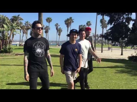 Behind The Scenes Of Pierce The Veil's K! Cover Shoot