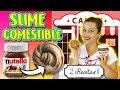 Haz Slime Comestible De Nutella | 2 Recetas De Slime De Nutella | Diy Edible Sli