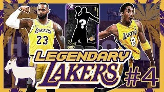 LEGENDARY LAKERS #4 - BRINGING IN A LAKERS GOAT TO CARRY THE SQUAD IN NBA 2K19 MYTEAM