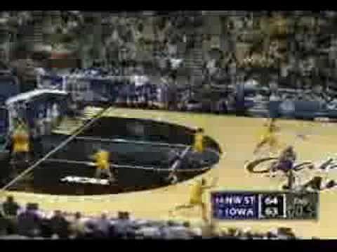 2006 NCAA Tourney: #14 NW ST over #3 Iowa