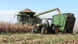 Colheita de milho  John Deere S680 plataforma x10