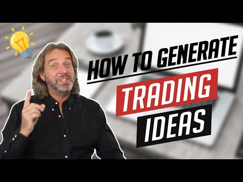 How To Generate Trading Ideas In 4 Easy Steps