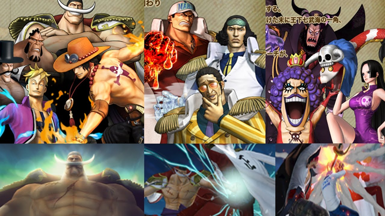 One Piece Pirate Warriors 3 - Marineford Arc & Impel Down ...