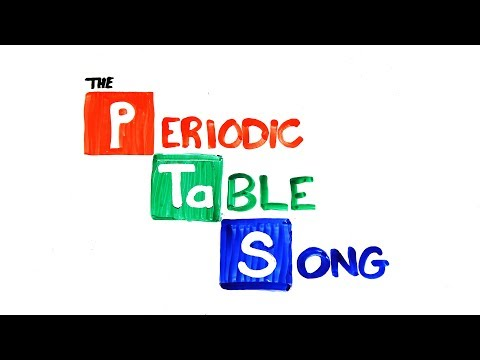 Видео: The NEW Periodic Table Song Updated
