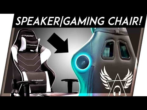The Gaming Chair With Speakers!!! | GT Racing Chair Review