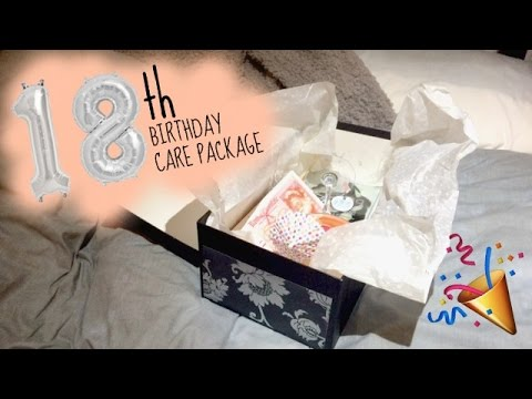 DIY 18th Birthday Present | Care Package
