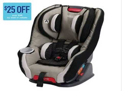 graco size4me 65 convertible car seat pierce youtube. Black Bedroom Furniture Sets. Home Design Ideas