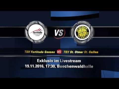 Gamepreview -- TSV Fortitudo Gossau - St. Otmar St. Gallen