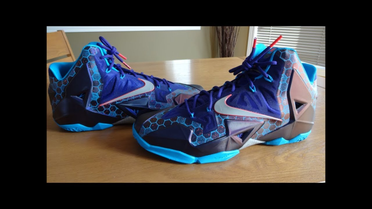1f70f22d6b69 Nike LeBron 11 Summit Lake Hornets - Detailed Review - YouTube
