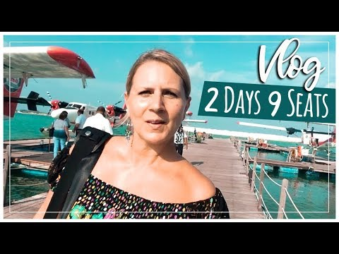 Maldives Vlog | Male Airport Lounges & Sea Plane Review