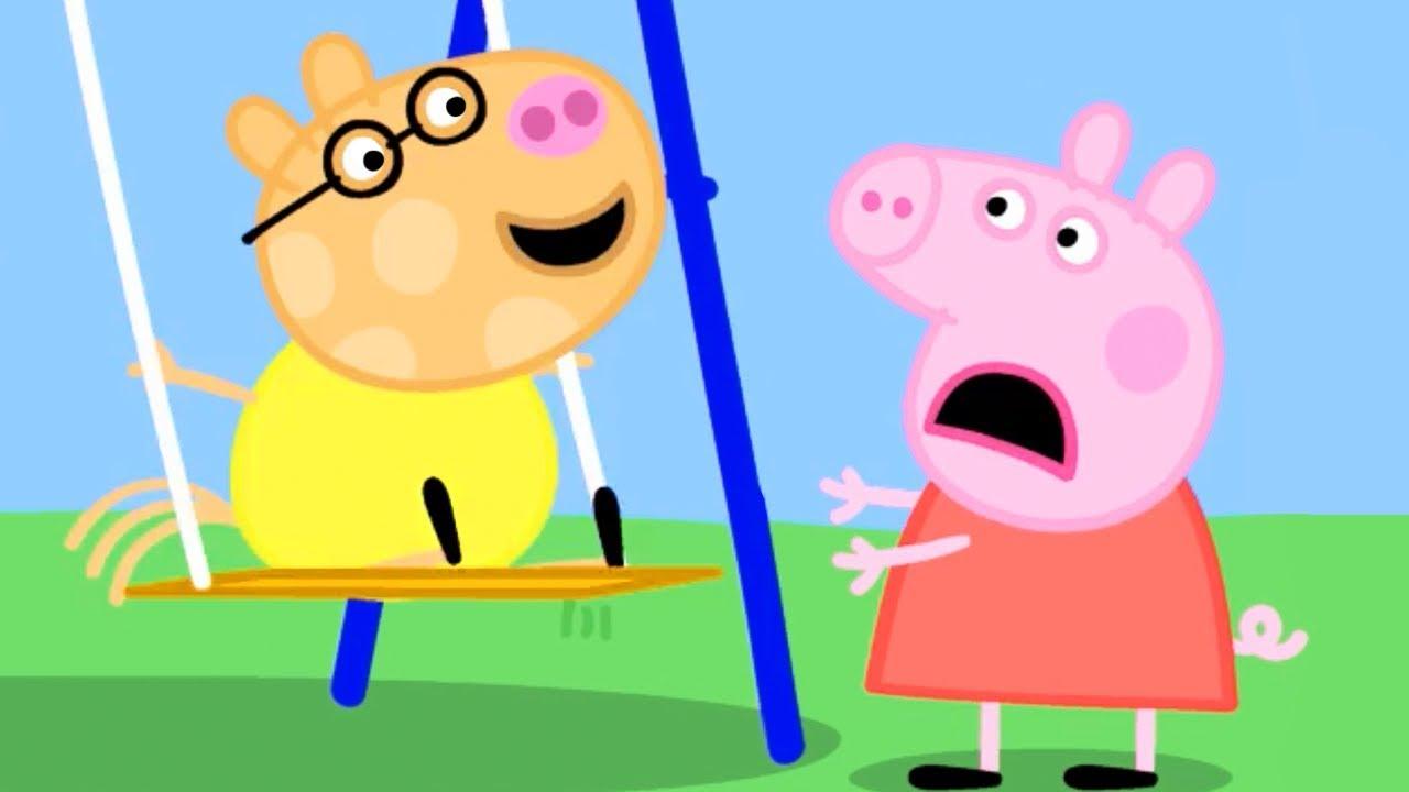 Peppa Pig świnka Peppa Po Polsku Plac Zabaw Bajki Po Polsku