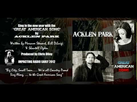 Acklen Park - Great American Song - Promo Video with Lyrics
