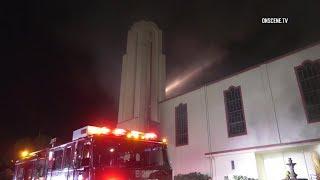 Boyle Heights Church Fire