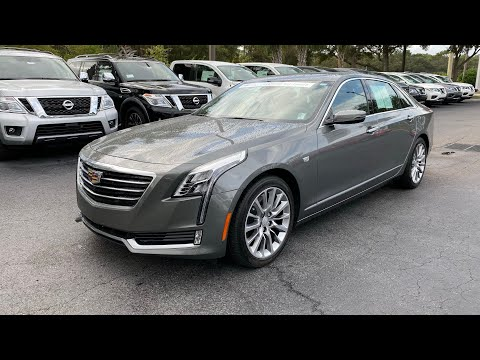 2017 Cadillac Cts 3.6 L Premium Luxury >> Pre Owned 2017 Cadillac Ct6 4dr Sdn 3 6l Premium Luxury Awd