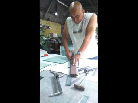 Herramientas para corte de vidrio