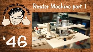 Snw46- Build Your Own Homemade Woodrat / Router Boss / Leigh Super Fmt (part 1 Of 2)