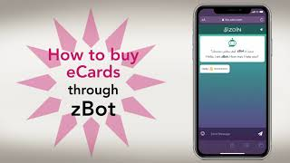 How to buy eCards through zBot
