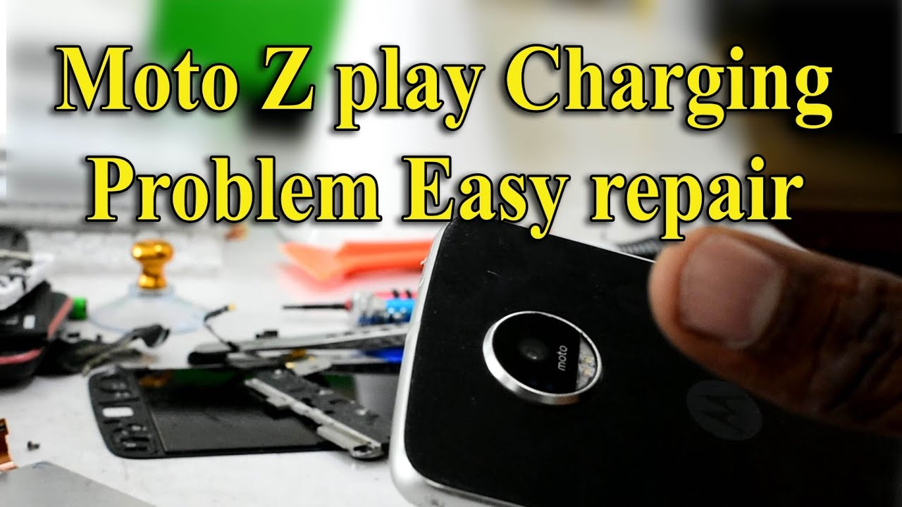 Moto z play charging problem    how to ready this