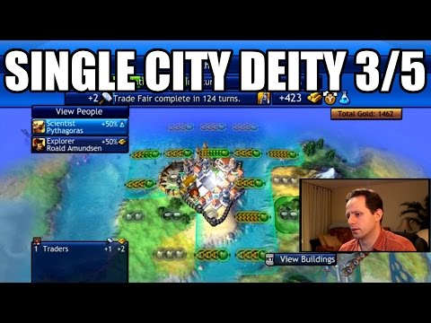 Civilization Revolution - Single City Economic Victory 1840 AD - Deity - Part 3