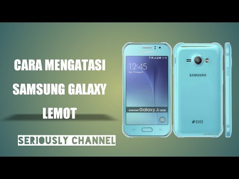 Cara Mengatasi Samsung Galaxy J1 Lemot - Hard Reset