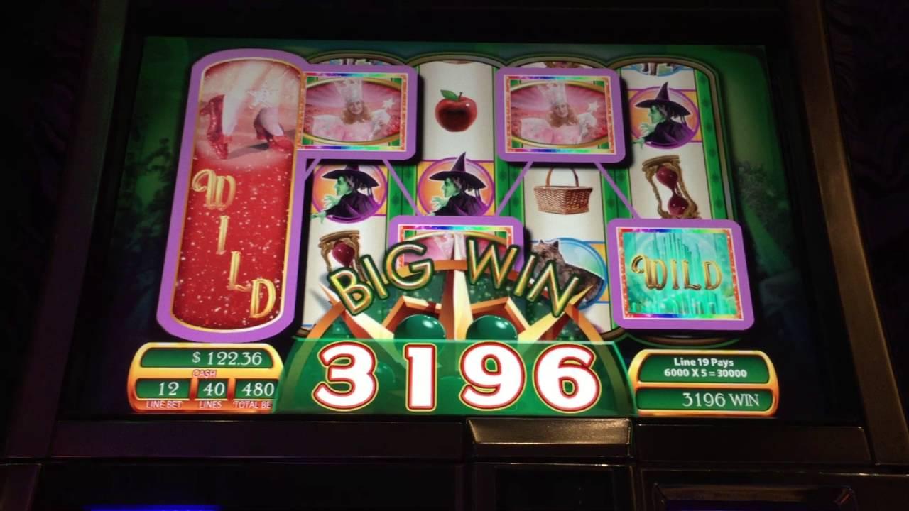 Ruby Slipper Slot Machine