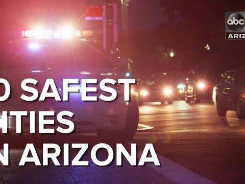 10 safest cities in Arizona - ABC15 Digital