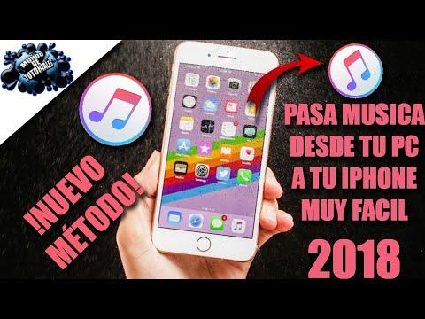 Como pasar música desde tu PC a tu iPhone |Muy fácil 2018|