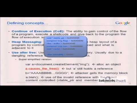 Black Hat USA 2012 - The Info Leak Era on Software Exploitation