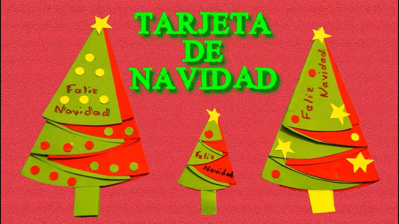 Tarjetas de navidad hechas a mano faciles paso a paso - Tarjeta de navidad manualidades ...