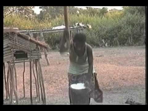 Kikongo's staple food