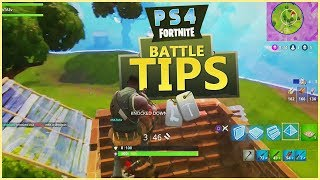PS4 FORTNITE TIPS (How to Change your controller settings + More)