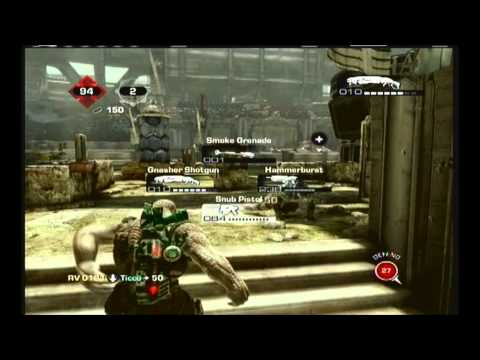 Gears Of War 3 Gnasher Montage Multikills & More