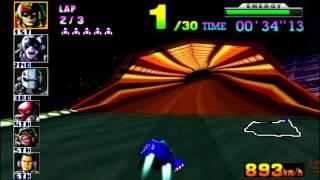 F-Zero X (N64) walkthrough - Mute City 2