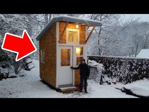 Bored Teen Builds Himself A Backyard 'House' That's Making Everyone Jealous